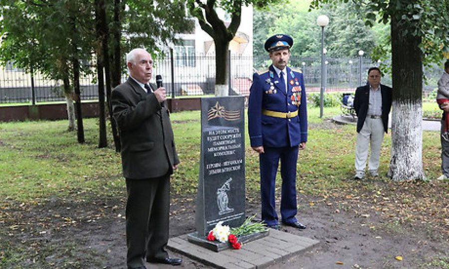 ВБрянске заложили камень монумента героям-летчикам