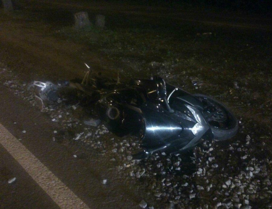 Мотоциклист без шлема разбился вБрянской области
