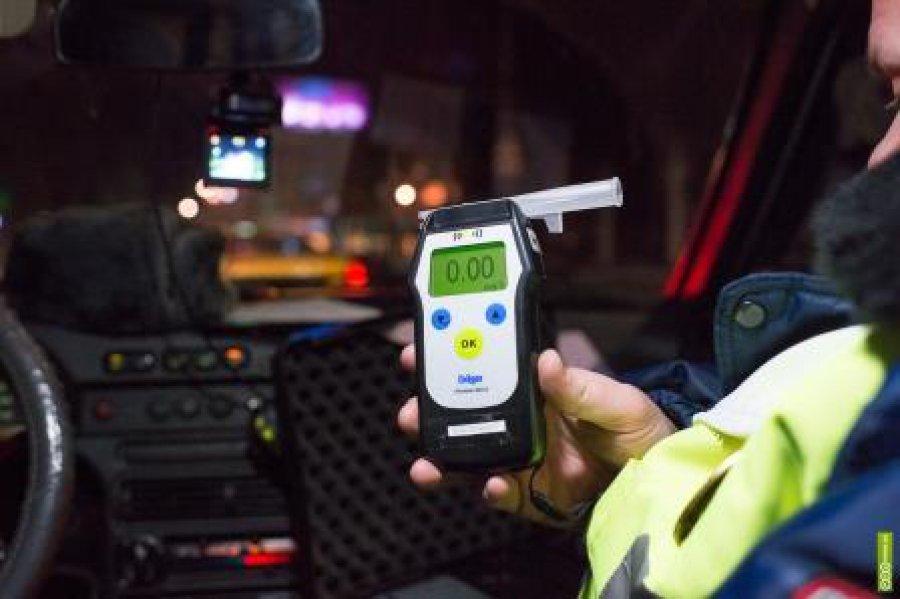 В двух районах Брянска устроят облаву на пьяных водителей
