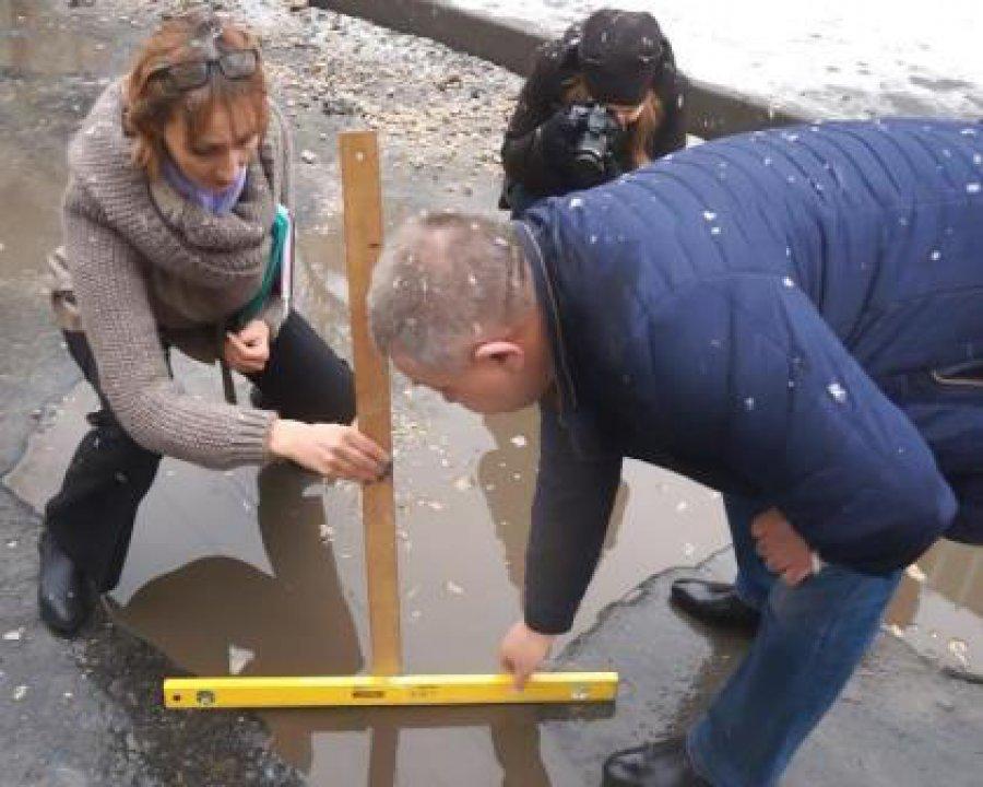 На трассах Брянска обнаружили ямы общей площадью практически 200 кв. м