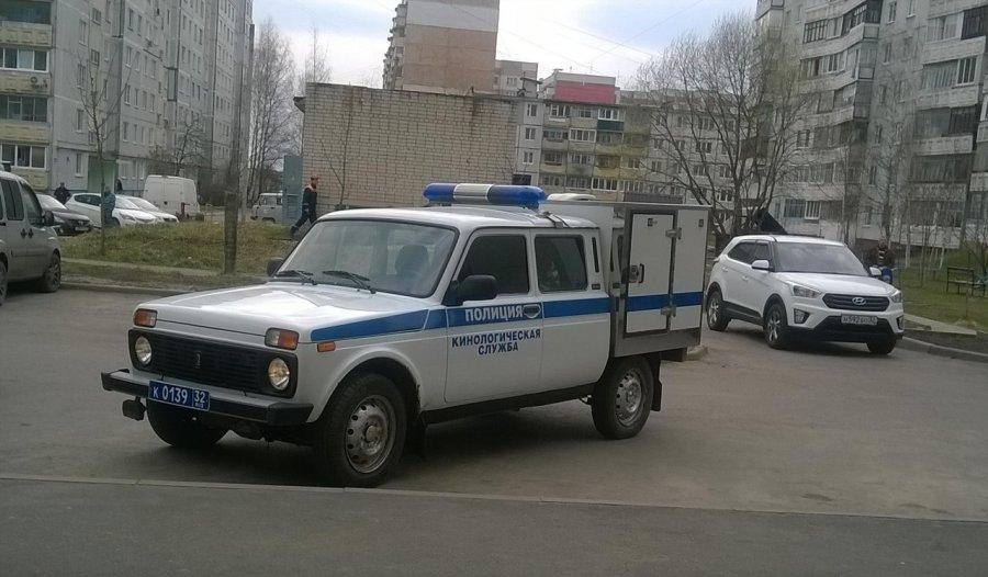ВБрянске оцепили двор поулице Фосфоритной