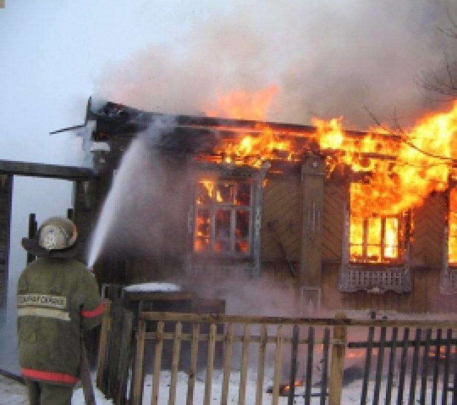 Вновозыбковском селе Белый Колодец потушили пожар вдоме