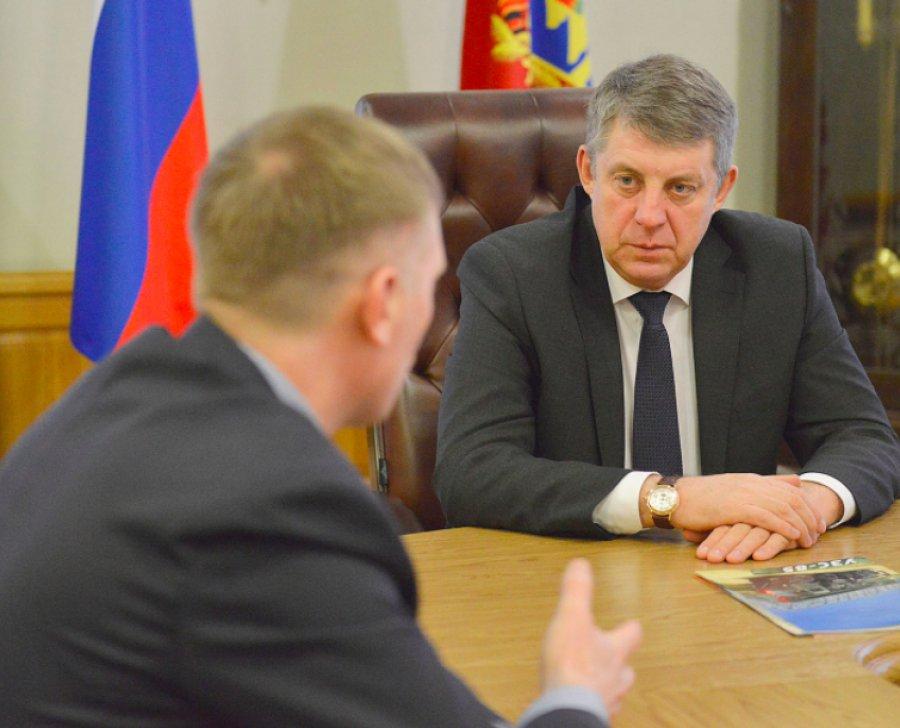 Губернатор Брянской области посетил Клинцовский автокрановый завод