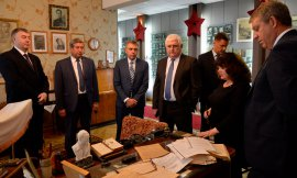 Брянский губернатор Богомаз и силовики посетили музей чекиста Медведева
