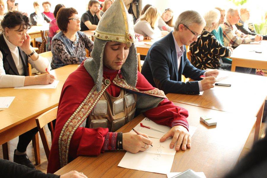 Орловчане напишут «Большой этнографический диктант»