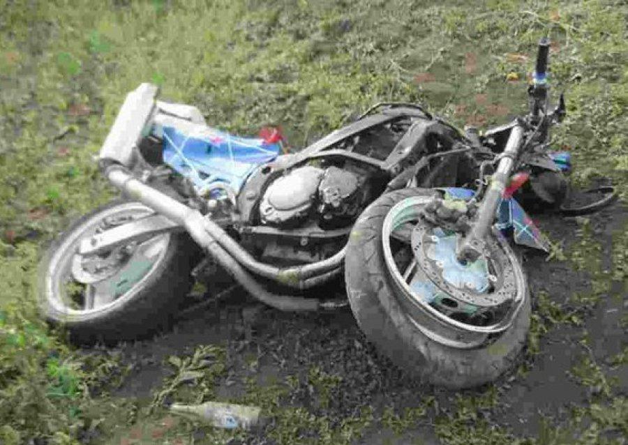 После ДТП набрянской трассе мотоциклист отказался дунуть втрубку