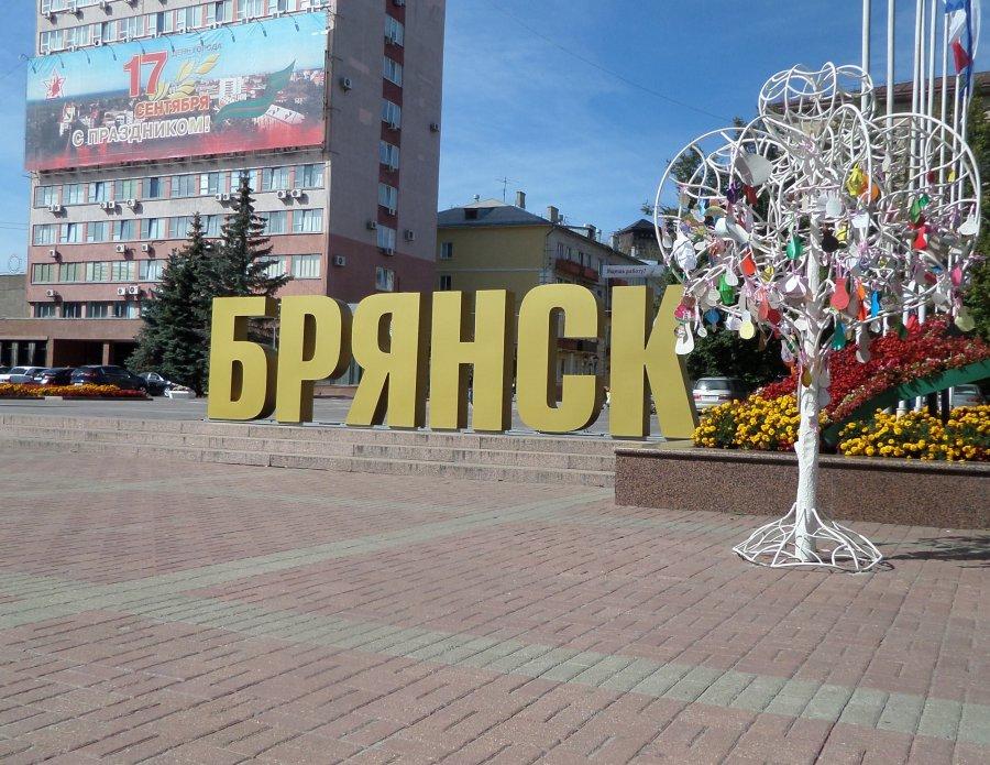 В центре Брянска появилась новая инсталляция