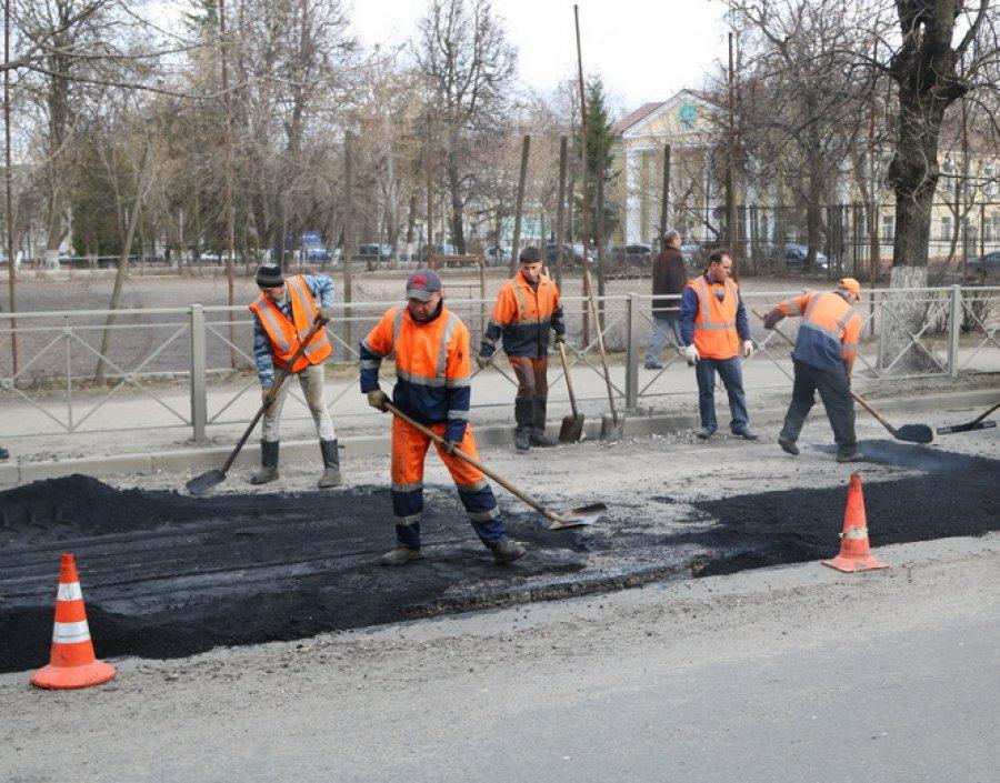 ВБрянске планируют чинить одну тысячу квадратных метров вдень