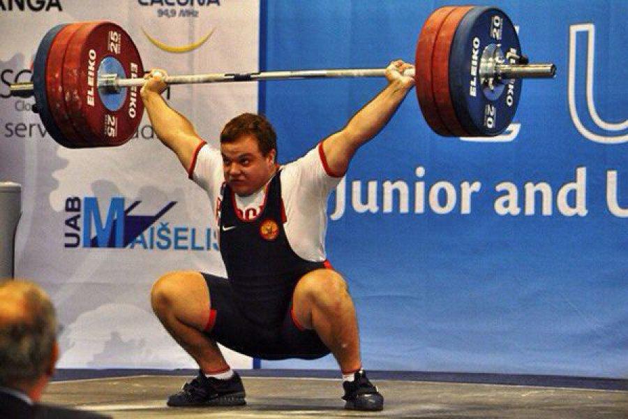 Брянскому тяжелоатлету наЧЕ нехватило килограмма добронзовой медали