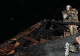 В суземском посёлке сгорела летняя кухня и сарай