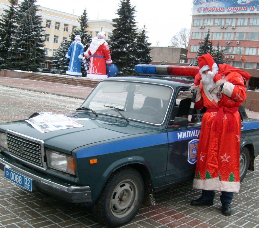 "В Брянске стартовала акция ""Полицейский Дед Мороз"""