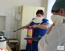 В Брянских больницах не досчитались огнетушителей