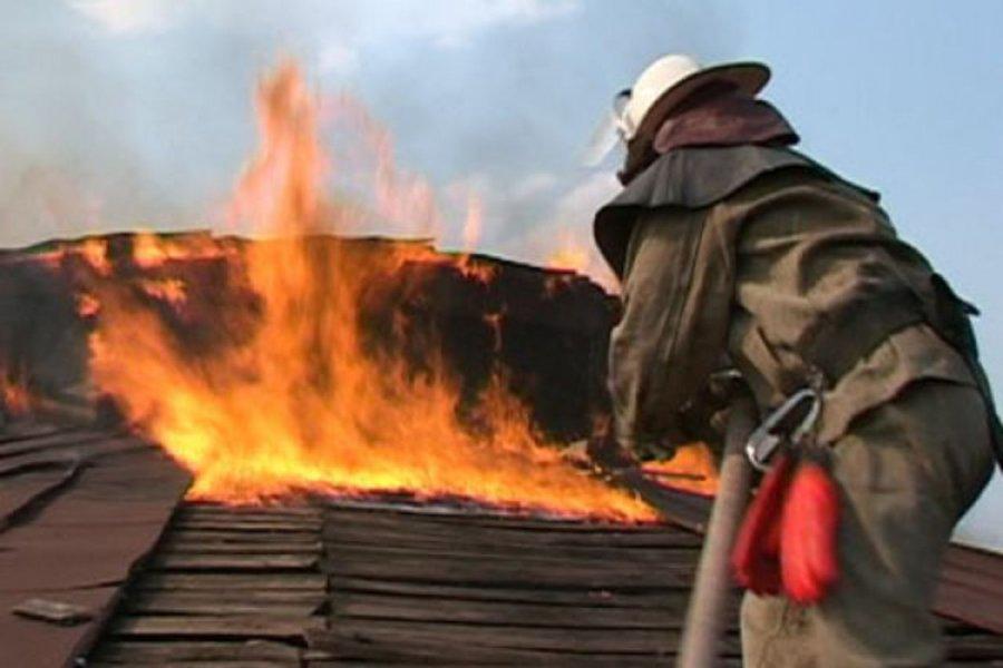 ВБрянске накрыше дома загорелись два кондиционера