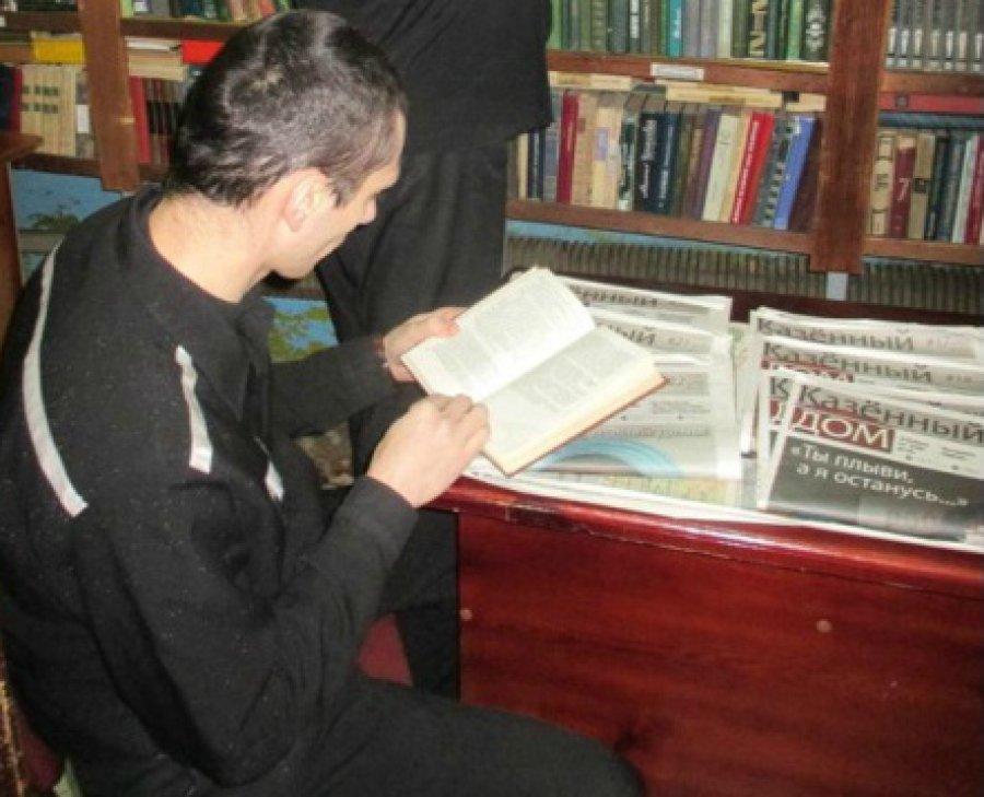 Осужденные брянской колонии №1 объединились в кружок книголюбов