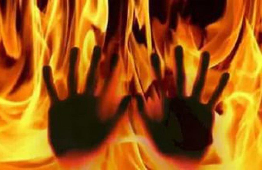 Вмглинском селе водном издомов найдено  сожженное тело женщины