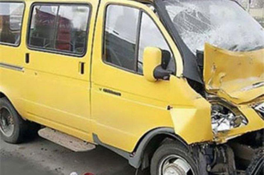 ВБрянске в трагедии пассажирка маршрутки получила ушибы