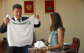 Глава Брянска поздравил юную чемпионку мира по теннису Владу Коваль