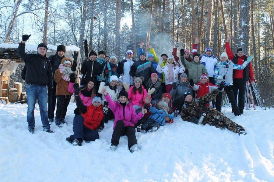 В брянском посёлке стартовала акция «Звонкая лыжня»