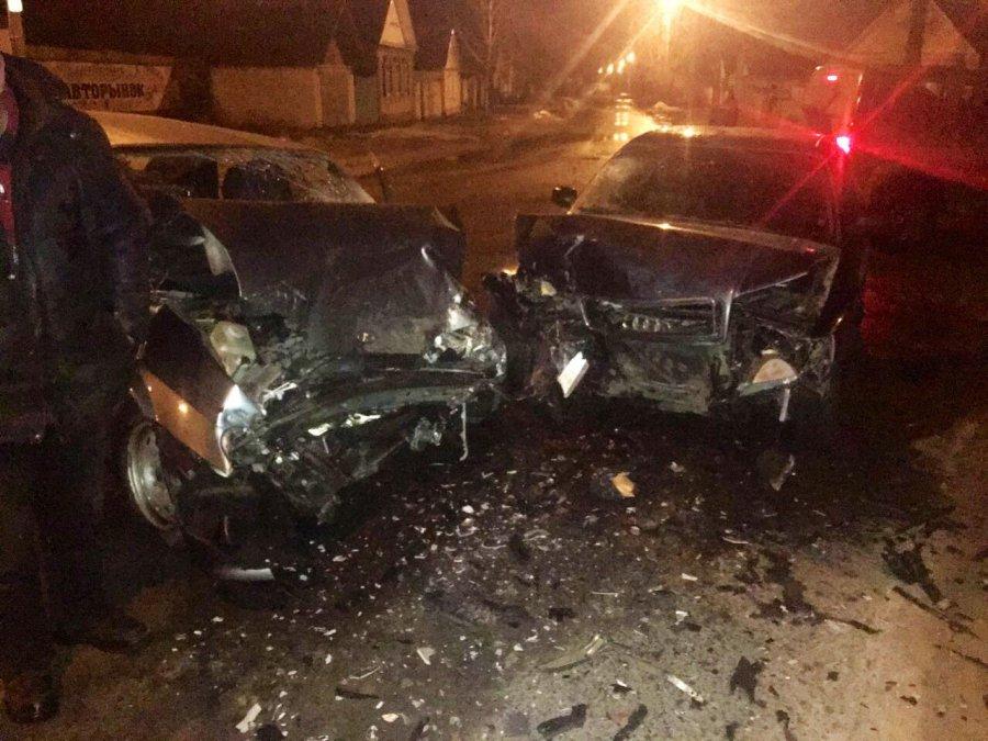 ВКлинцах 15-летний ребенок пострадал вДТП с Ауди и«ВАЗом»