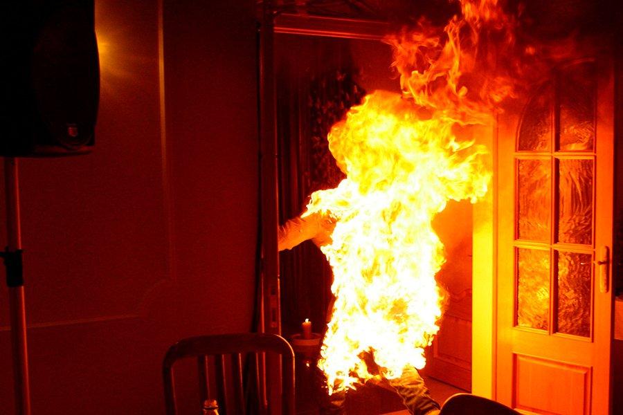 ВМглинском районе мужчина живьем сжёг супругу из-за алкоголя