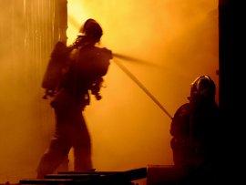 В брянском посёлке Чайковичи сгорел дом