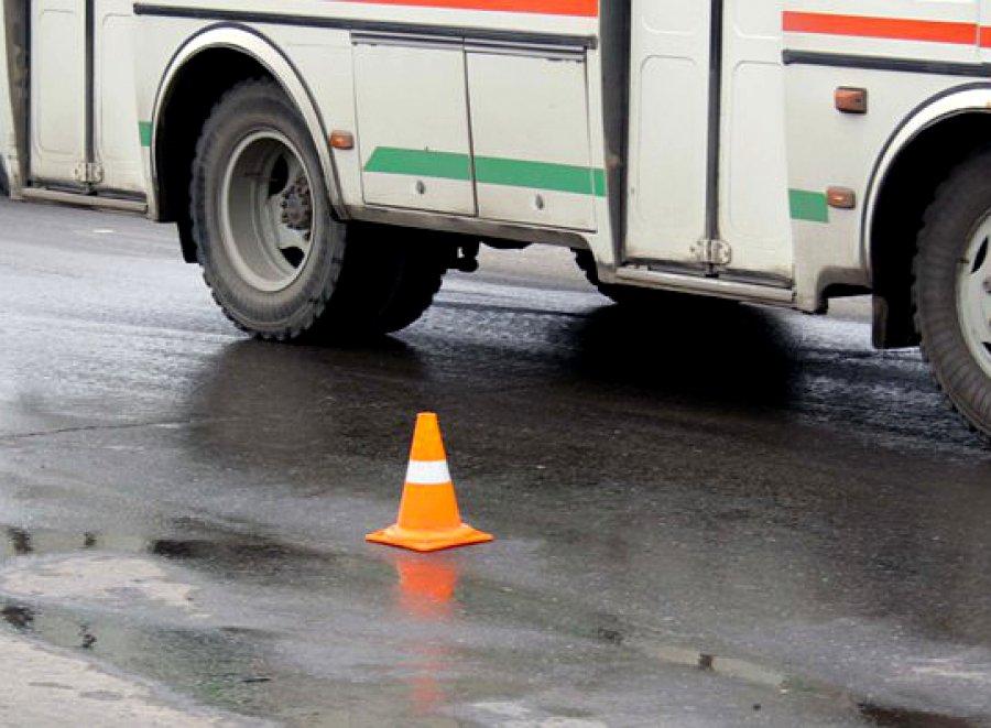 ВКлинцах автобус при развороте зацепил пенсионерку