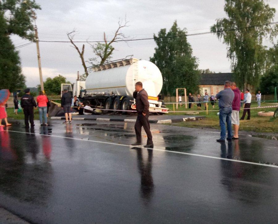 Засмерть 2 молодых людей  вДТП ответят шофёр  МАЗа ибрянские чиновники