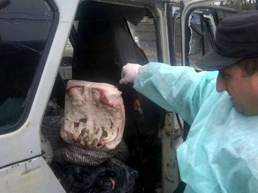 Брянские таможенники перекрыли канал поставки сала из государства Украины