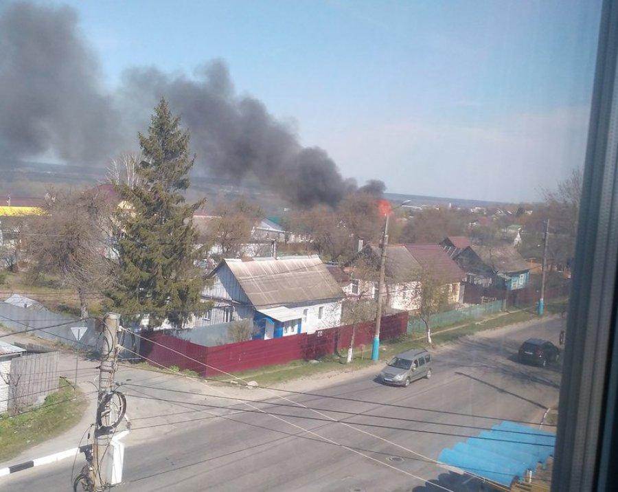 Брянск встал впробке из-за пожара вГородищенском переулке