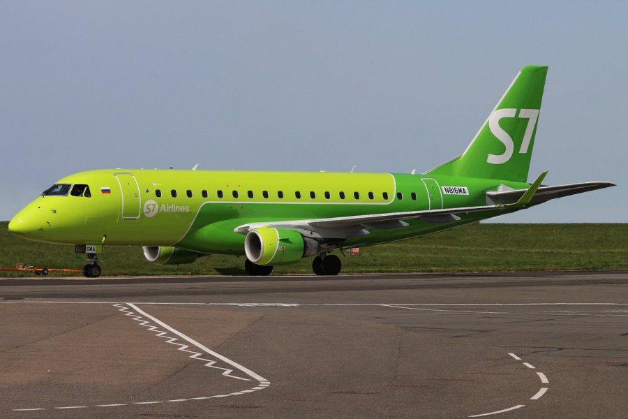 Санкт-Петербург: S7 ввела самолёты Embraer наавиарейс Брянск