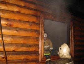В Фокинском районе Брянска сгорела баня