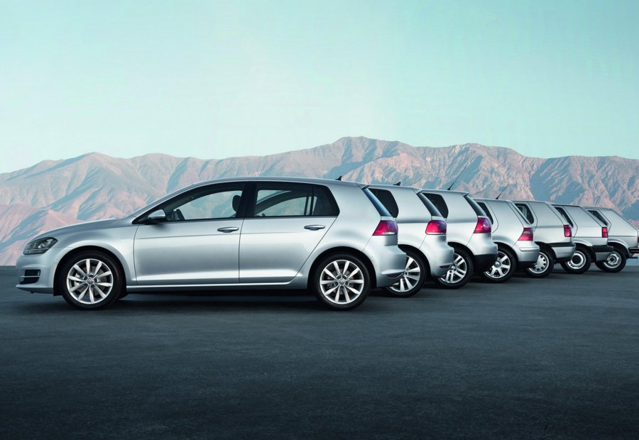Volkswagen Golf. 40 лет легенде