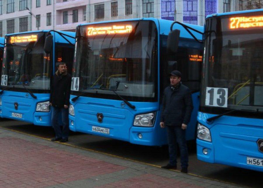 ВБрянске начнут курсировать десять переданных Москвой автобусов