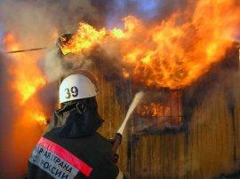 В брянском селе вспыхнул жилой дом
