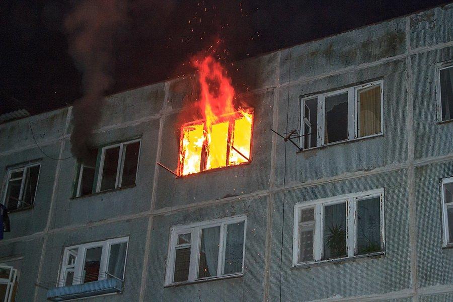 Пожар вбрянском городе Сельцо заставил эвакуировать 20 жильцов дома