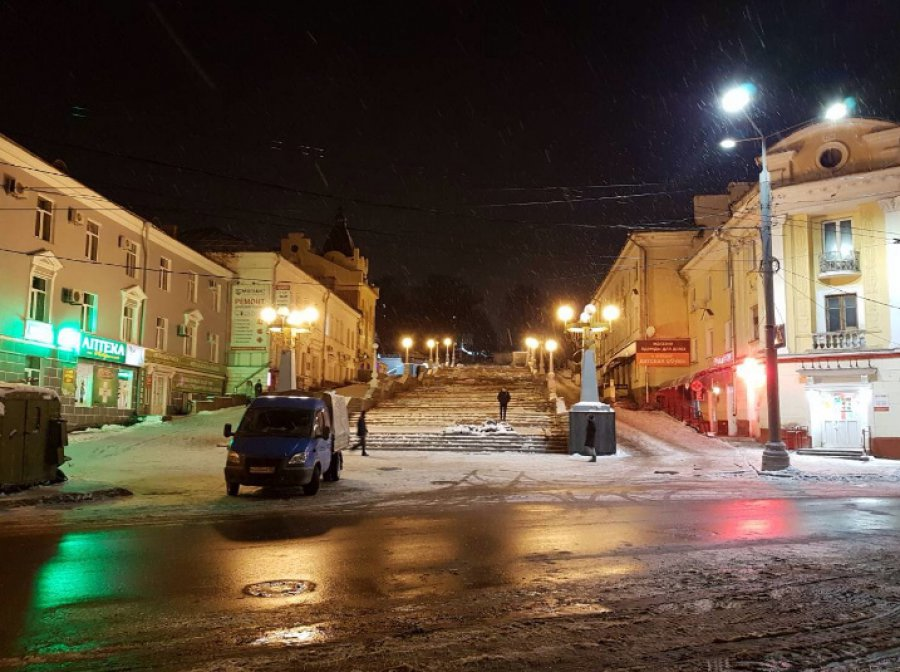 ВБрянске кНовому году осветят лестницу набульваре Гагарина