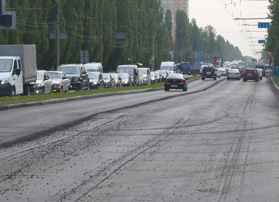 ВБрянске починят  неменее  60 тыс.  квадратных метров проспекта Московского