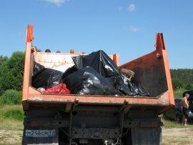 В брянском посёлке Радица-Крыловка очистили озеро от мусора