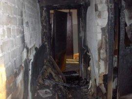 В Брянске горела квартира из-за неосторожного курения