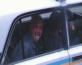 9 мая под Брянском пьяный водитель протаранил две полицейских машины
