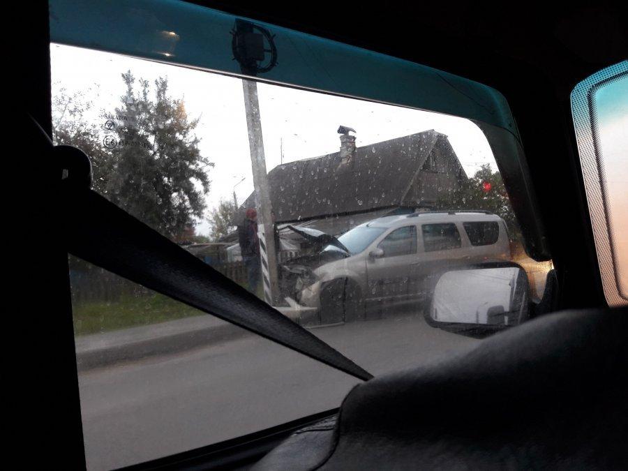 Два автомобиля устроили массовое ДТП вБежичах