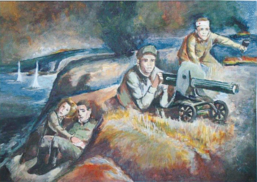 В Брянске объявили конкурс детского рисунка о героях войны