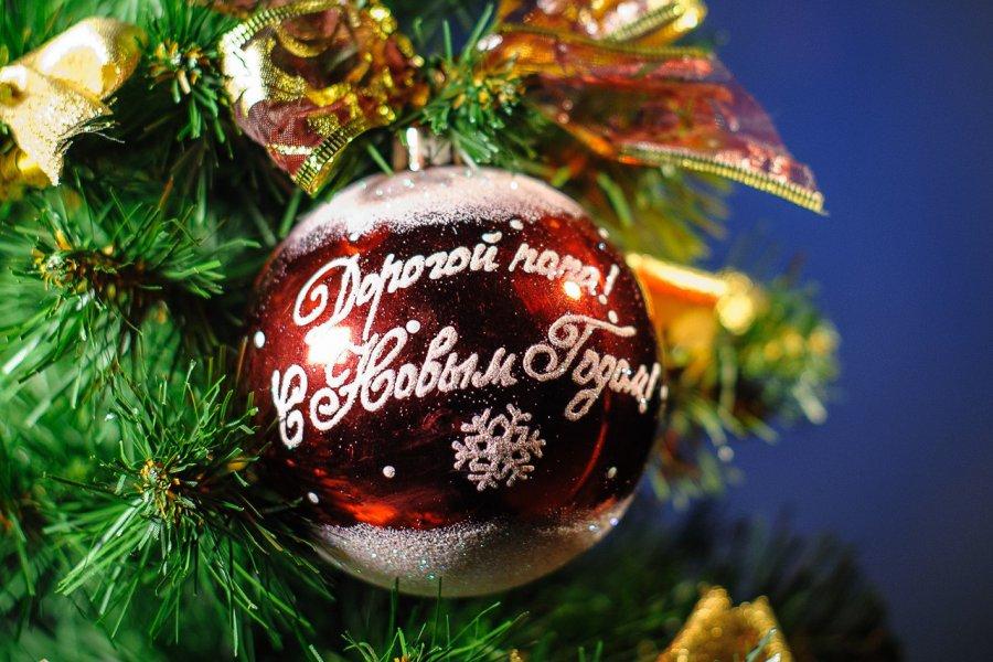 В Брянске елку на площади Партизан украсят новогодние шары желаний