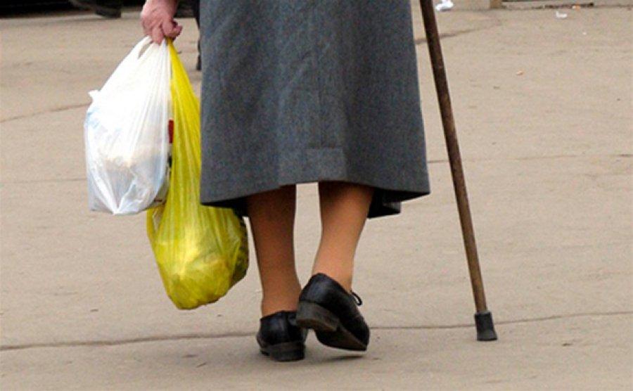 Вбрянском автобусе №2 пенсионерка сломала себе ногу