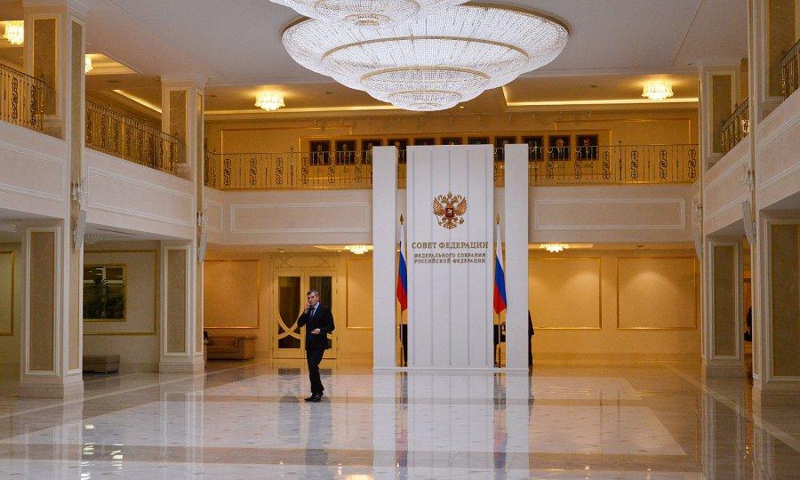 ВСовете Федерации состоялась рабочая встреча Валентины Матвиенко иАлександра Богомаза