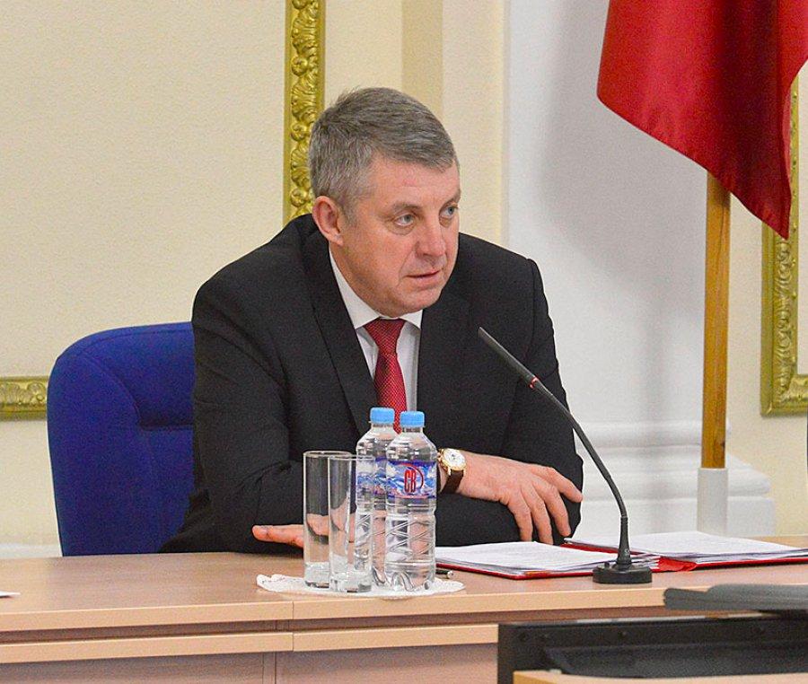 Брянский губернатор Богомаз потребовал новогоднего настроения