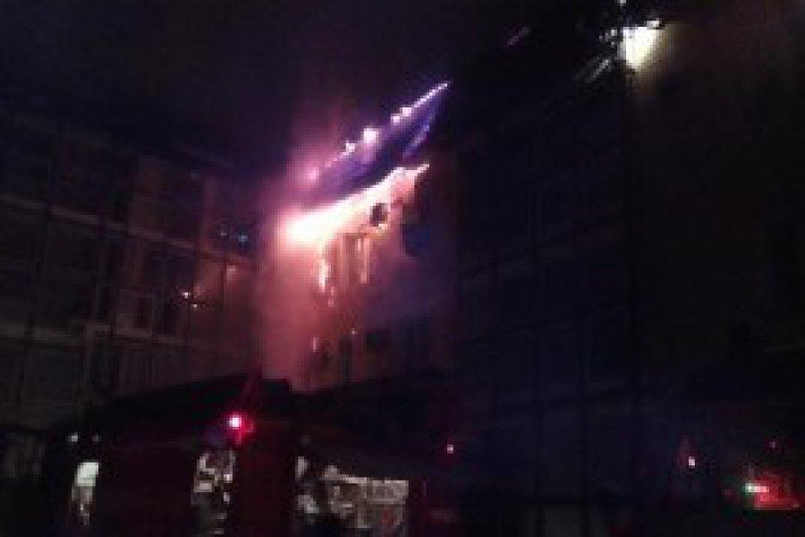 В Брянске из горящей сауны спасли трёх человек