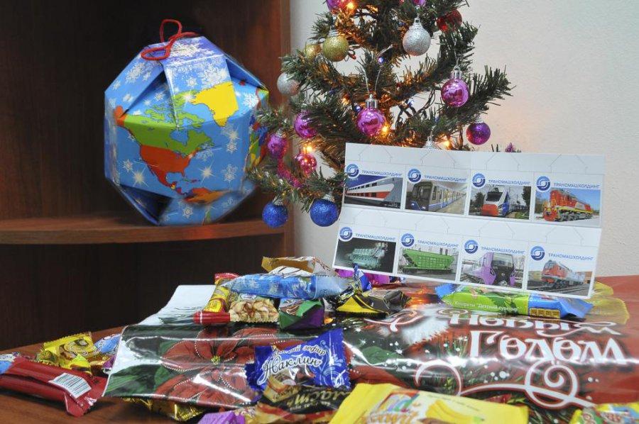 Новогодний подарок детям работников 527