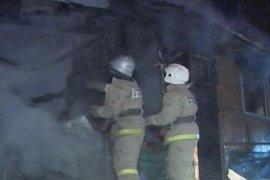 В Мглинском районе горел дом