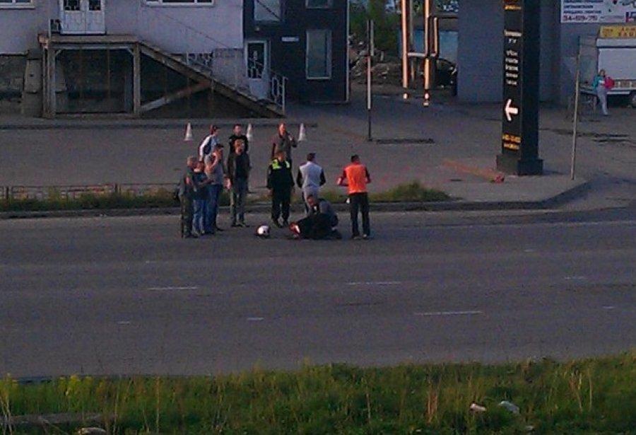 На «проклятом месте» наулице Бурова разбился мотоциклист— Брянск